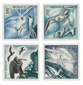 Monaco - 1955 - Yvert A55/58 neuf