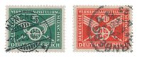 Empire Allemand - 1925 - Michel 370/71, oblitéré