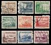 Empire Allemand - 1937 - Michel 651/659, oblitéré