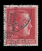 Tyske Rige - 1938 - Michel 664, Stemplet