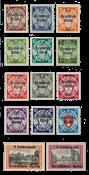 Empire Allemand - 1939 - Michel 716/729, neuf avec  charnière