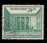 Tyske Rige - 1940 - Michel 743, Stemplet