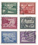 Empire Allemand - 1941 - Michel 773/778, oblitéré