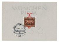 Tyske Rige - 1937 - Michel Blok 10, Stemplet