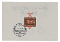 German Empire 1937 - Michel Block 10 - Cancelled