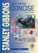 Stanley Gibbons katalog England Concise 2018