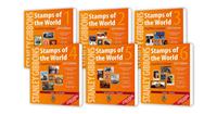 Stanley Gibbons frimærkekatalog - Hele verden bind   1-6 komplet 2019