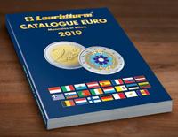 Leuchtturm Euro mønt- og seddelkatalog 2019 - Med fransk tekst