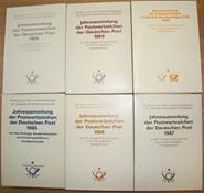 RDA - Feuilles premier jour 1985-1990