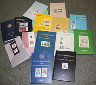 Allemagne de l'Ouest - Livres annuels 1986-2000