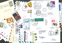 Enveloppes premier vol - Lot