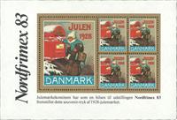 1983 NORDFRIMEX / 1928 JULEMÆRKET