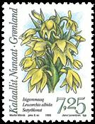 Grønland - 1995. Arktiske orkideer - 7,25 kr. - Flerfarvet