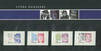 Danemark - Présentation souvenir - Personnalités célèbres du Danemark