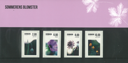 Danmark Souvenirmappe - Sommerens blomster