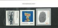 Danmark souvenirmappe Frimærkekunst