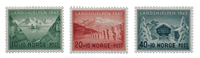 La Norvège - 1943 - AFA 298/300, neuf