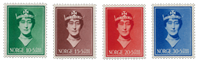 La Norvège - 1939 - AFA 204/207, neuf