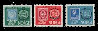 La Norvège - 1955 - AFA 407/409, neuf