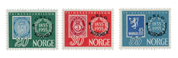 Norge - 1955 - AFA 407/409, Postfrisk