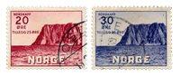 La Norvège - 1938 - AFA 199/200, oblitéré