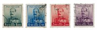 Norge - 1937-1938 - AFA 192/195, Stemplet