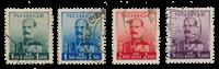 La Norvège - 1937-1938 - AFA 192/195, oblitéré