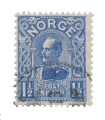 Norge - 1909 - AFA 73, Stemplet