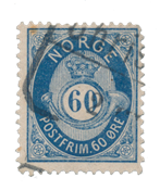 Norge - 1877/1878 - AFA 31, Stemplet