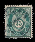 La Norvège - 1877-1878 - AFA 29, oblitéré