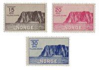La Norvège -  1930 - AFA 159/161, neuf