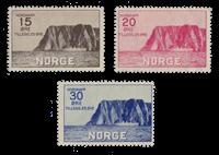 Norge -  1930 - AFA 159/161, Postfrisk