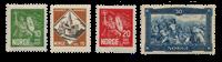 La Norvège - 1930 - AFA 155/158, neuf avec charnière