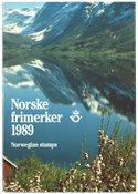 Norge - Årsmapper 6 stk.