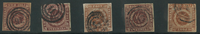 Danemark - 4 RBS 1851-54 Ferslew