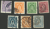 Danemark - Timbres service