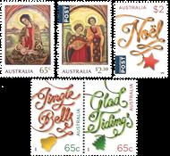Australien - Julen 2018 - Postfrisk sæt 5v