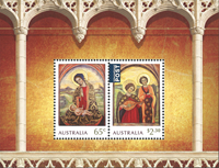 Australien - Julen 2018 - Postfrisk miniark