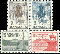 Danmark - 1937 Chr X sølvjubilæum - postfrisk