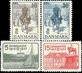 Danemark - 1937 Chr. X jubilée argent - Neuf