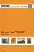 MICHEL - Western Europe 2018/2019 - Stamp catalogue