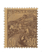 Monaco - 1919 - Yvert 31, neuf avec charnière