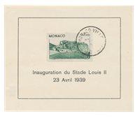 Monaco - 1939 - Yvert 184, oblitéré
