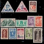 Monaco - 1951 - Yvert 353/364, neuf
