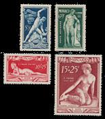 Monaco - 1948 - Yvert A28/31, neuf