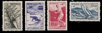 Monaco - 1948 - Yvert A32/35, neuf
