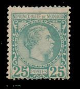 Monaco 1885 - YT 6 - Ubrugt