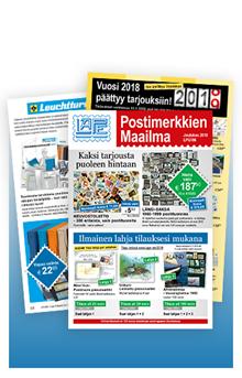 Postimerkkien Maailma - LPG186