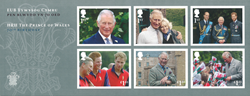Great Britain - Prince Charles - Mint souvenir sheet