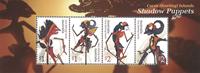 Cocos Keeling -  Marionetdukker - Postfrisk miniark
